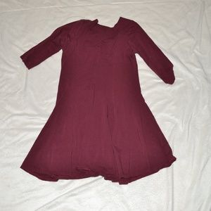 Boohoo swing dress